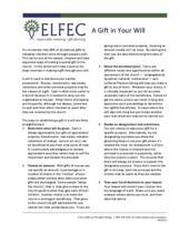 Wills and Bequests